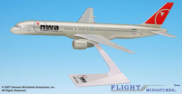 Northwest 757-200 (New Colors) (1:200)