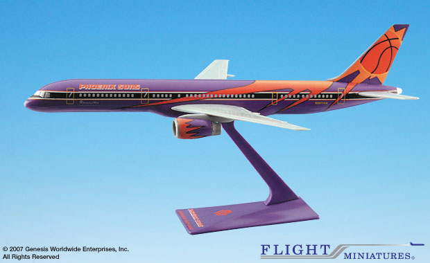 "America West 757-200 ""Phoenix Suns"" (1:200), Flight Miniatures Snap-Fit Airliners, Item Number BO-75720H-601"