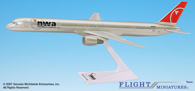 Northwest 757-300  (New Colors) (1:200)