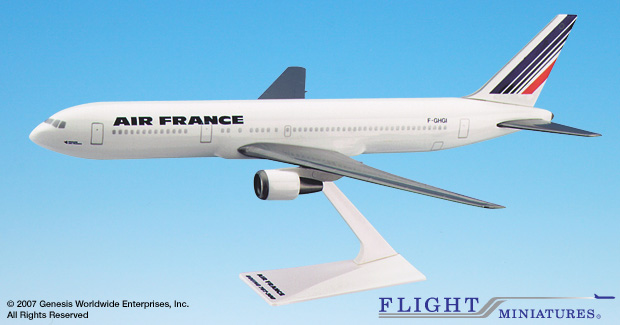 Air France B767-300 (1:200), Flight Miniatures Snap-Fit Airliners, Item Number BO-76730H-030