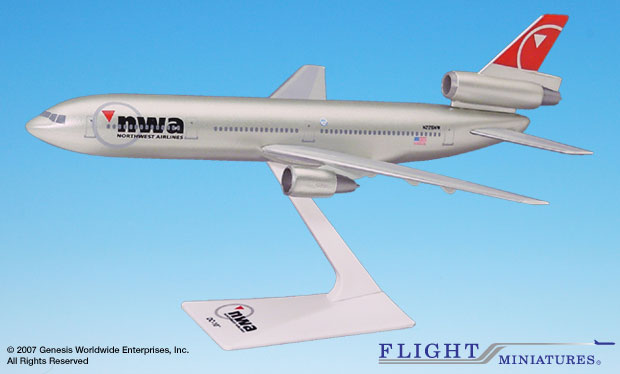 Northwest (03-09) DC-10 (1:250)