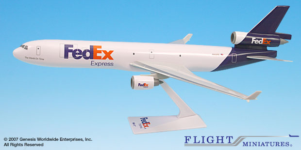 FedEx (05-Cur) MD-11 (1:200)