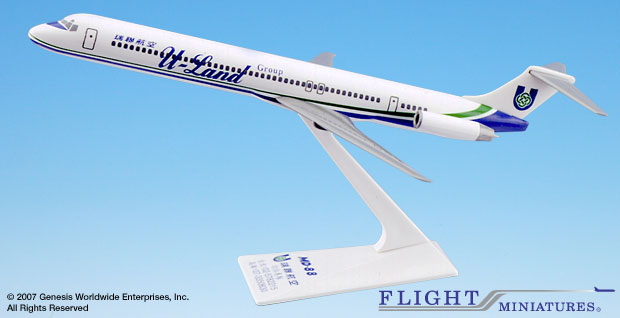 U-Land MD-80 (1:200), Flight Miniatures Snap-Fit Airliners, Item Number MD-08000H-013