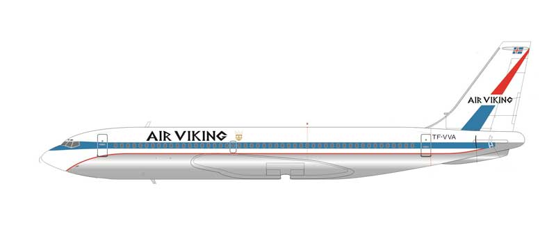 Air Viking B720 TF-VVA (1:200), AeroClassics Models Item Number AC2AVK0416