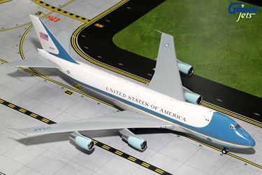 USAF Air Force One B747-200 29000 with Antennas (1:200), GeminiJets 200 Diecast Airliners Item Number G2AFO624