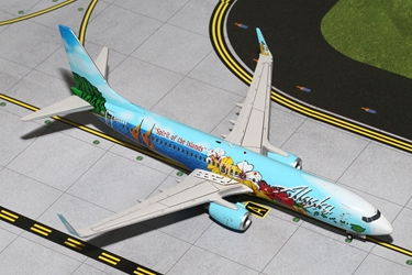 "Alaska 737-800W ""Spirit of the Islands"" (1:200)"