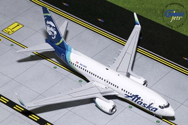 Alaska B737-700 Winglets, New Livery N614AS (1:200)