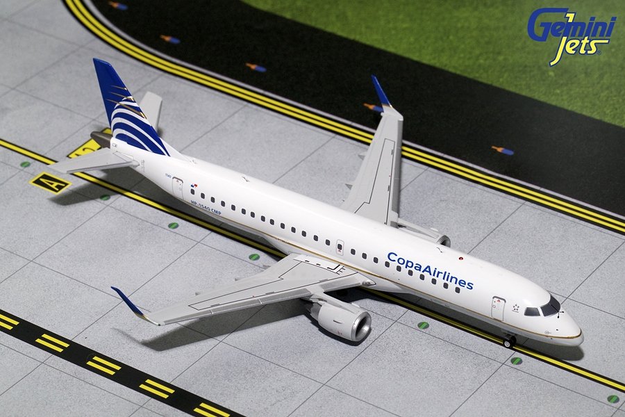 Copa Airlines ERJ-190 HP-1540CMP (1:200), GeminiJets 200 Diecast Airliners Item Number G2CMP563