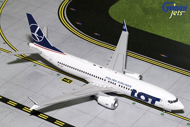 LOT Polish B737 MAX-8 SP-LVA (1:200) - Preorder item, order now for future delivery