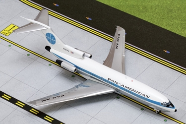 Pan American B727-100 Old Livery N357PA (1:200), GeminiJets 200 Diecast Airliners Item Number G2PAA308