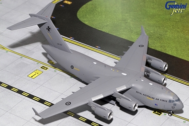 Royal Australian Air Forct C-17 A41-213 (1:200), GeminiJets 200 Diecast Airliners Item Number G2RAA640