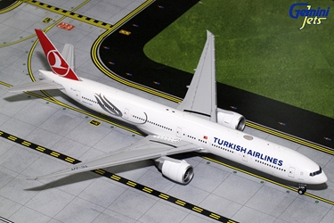Turkish Airways B777-300ER TC-JJT (1:200), GeminiJets 200 Diecast Airliners Item Number G2THY680