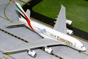 "Emirates A380 ""England Rugby World Cup"" A6-EEN (1:200), GeminiJets 200 Diecast Airliners Item Number G2UAE565"