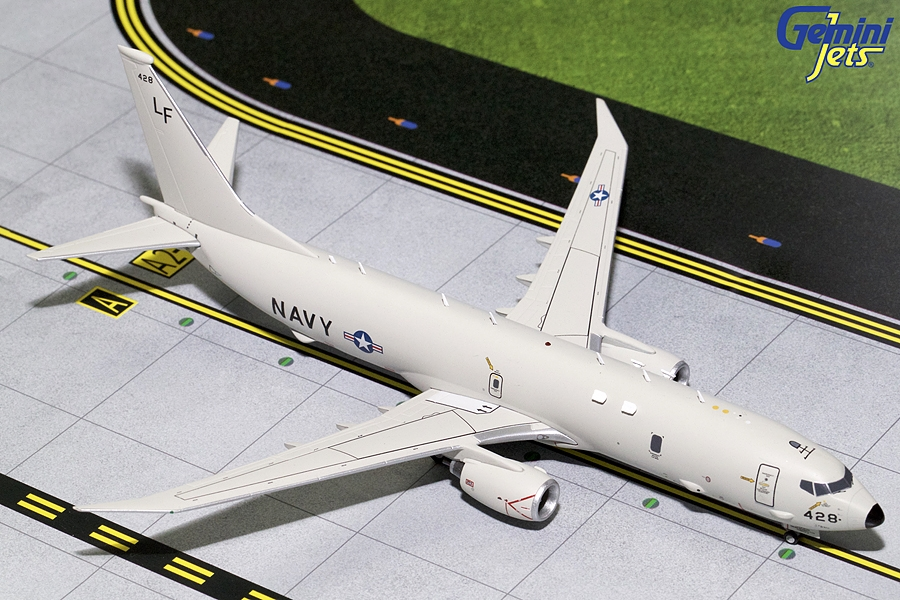 "US Navy P-8 Poseidon ""428"" (1:200) - New Mould - Preorder item, order now for future delivery , GeminiJets 200 Diecast Airliners Item Number G2USN622"