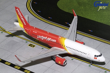 Vietjet A320-200 with Sharklets VN-A671 (1:200), GeminiJets 200 Diecast Airliners Item Number G2VJC711