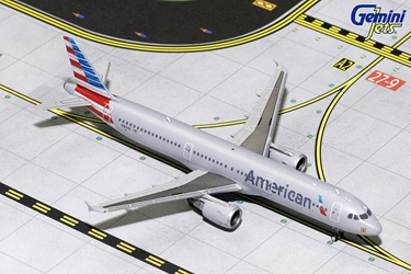 American Airlines A321 N187US (1:400) - Preorder item, order now for future delivery