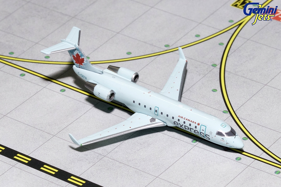 Air Canada CRJ-200 Light Blue Livery C-GKFR (1:400), GeminiJets 400 Diecast Airliners Item Number GJACA1674