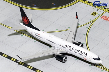 Air Canada B737 MAX-8 C-FTJV (1:400) - Preorder item, order now for future delivery
