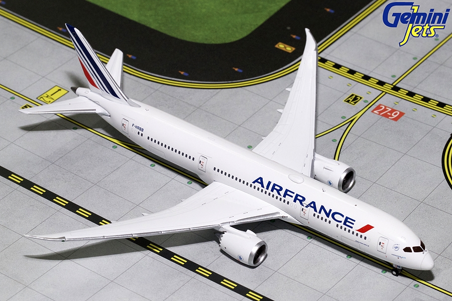Air France B787-9 F-HRBB (1:400), GeminiJets 400 Diecast Airliners Item Number GJAFR1637