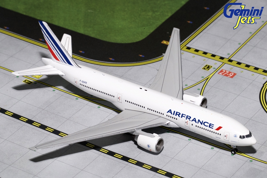 Air France B777-200ER F-GSPZ (1:400), GeminiJets 400 Diecast Airliners Item Number GJAFR1645