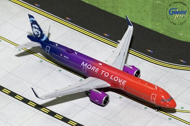 "Alaska Airlines A321neo ""More to Love"" N927VA (1:400) - Preorder item, order now for future delivery"
