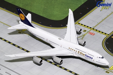 "Lufthansa B747-8I ""5 Starhansa"" D-ABYM (1:400) - Preorder item, order now for future delivery"