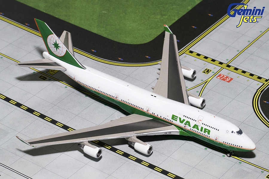 "EVA Air B747-400 B-16411 ""Final Flight"" (1:400) - Preorder item, Order now for future delivery"