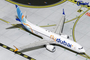 FlyDubai B737 MAX-8 A6-MAX (1:400) - Preorder item, order now for future delivery