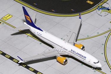 Icelandair B737 MAX-8 New Livery TF-ICE (1:400)