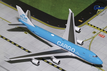 "KLM Cargo B747-400F ""New Livery"" PH-CKA (1:400)"