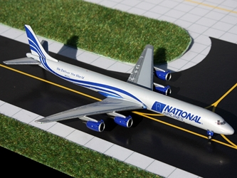 National DC-8-71F N872SJ (1:400), GeminiJets 400 Diecast Airliners, Item Number GJMUA1049