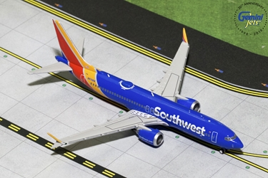 Southwest Airlines B737 MAX-8 N8706W (1:400) - Preorder item, order now for future delivery