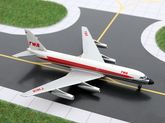 TWA Convair 880 (Delivery Colors) (1:400), GeminiJets 400 Diecast Airliners, Item Number GJTWA535