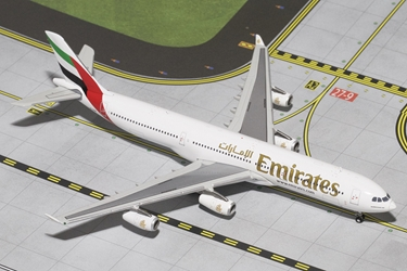 Emirates A340-300 A6-ERT (1:400), GeminiJets 400 Diecast Airliners Item Number GJUAE1284