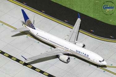 United Airlines B737 MAX-9 N67051 (1:400) - Preorder item, order now for future delivery