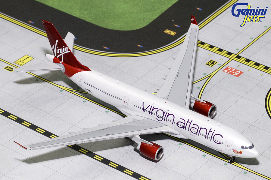 Virgin Atlantic A330-200 G-VMIK (1:400) - Preorder item, order now for future delivery