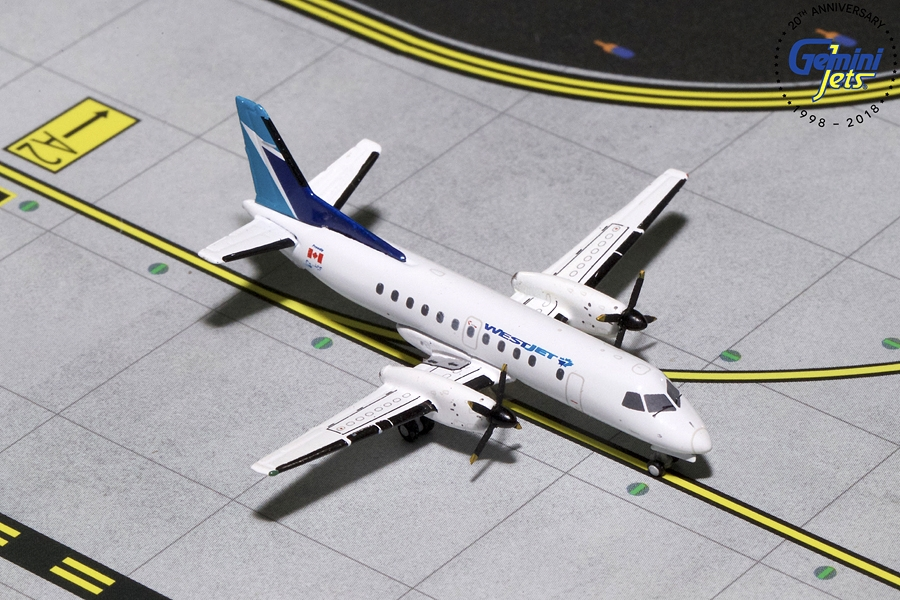 Westjet SAAB SF-340B C-GPCF (1:400) - Preorder item, order now for future delivery