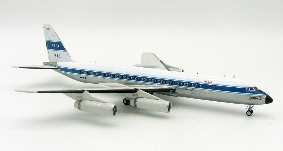 "NASA Convair 990A N712NA Polished ""Galileo II"" ""712"" (1:200)"