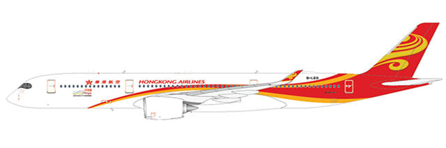 Hong Kong Airlines A350-900 B-LGB, with Antenna (1:400)