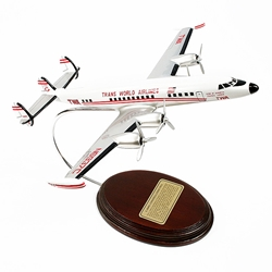 L-1049 Constellation TWA (1/123 Scale), Mastercraft Models Item Number NC09087