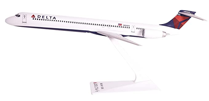 Delta (07-Cur) MD-90 (1:200), Flight Miniatures Snap-Fit Airliners, Item Number MD-09000H-007