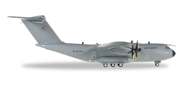 Luftwaffe A400M LTG62 (1:200) by Herpa 1:200 Scale Diecast Airliners <p> Item Number: HE557207-003
