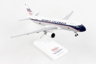 Avianca A320 W/Gear Retro Livery (1:150)