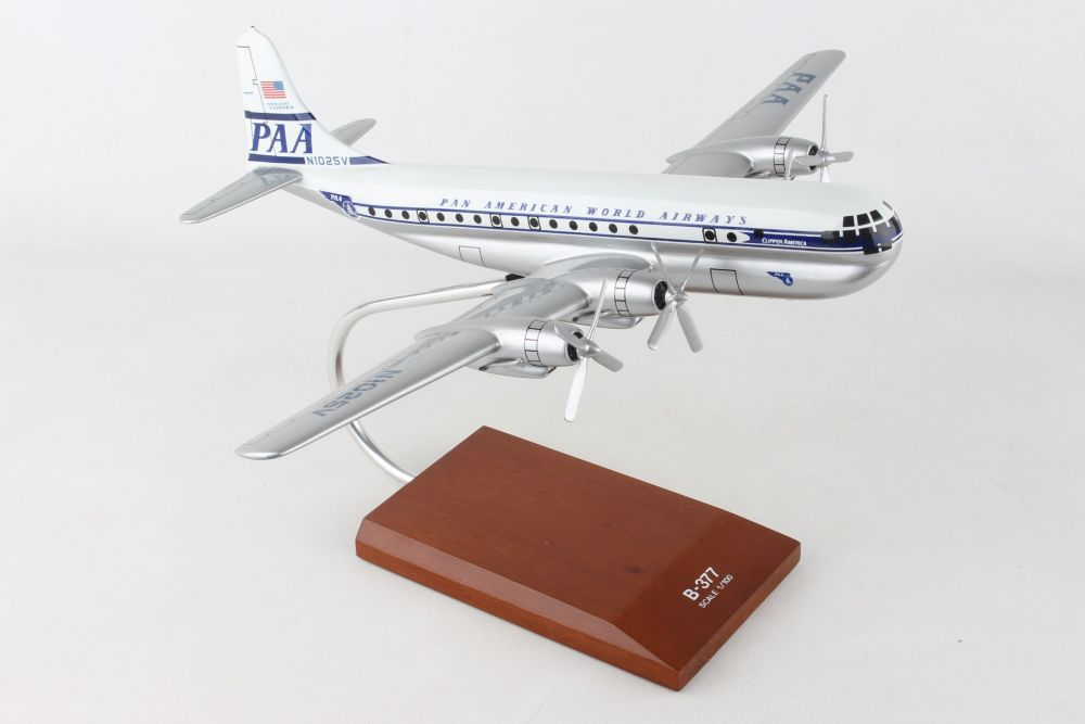 Pan Am B-377 Updated Livery 1:100 by Executive Series Display Models item number: G15510