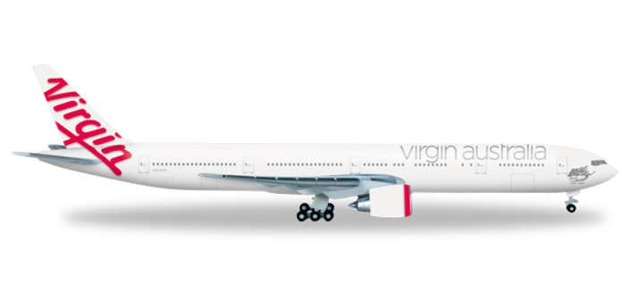 Virgin Australia 777-300ER VH-VPD (1:500), Herpa 1:500 Scale Diecast Airliners Item Number HE526593