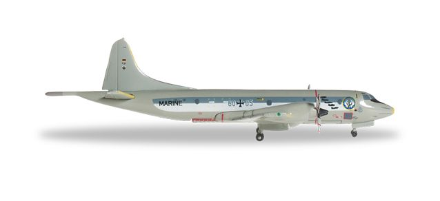 Germany Navy P-3C Orion, MFG3 50TH Anniversary (1:500), Herpa 1:500 Scale Diecast Airliners Item Number HE527125