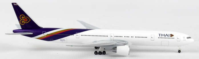 "Thai 777-300ER HS-TKU ""Acharasobhit"" (1:500), Herpa 1:500 Scale Diecast Airliners Item Number HE528344"
