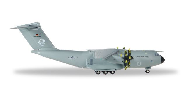 "Luftwaffe A-400M LTG62 ""Air Transport Wing 62"" (1:500), Herpa 1:500 Scale Diecast Airliners Item Number HE528719-001"