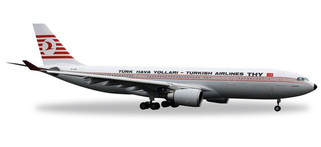 Turkish A330-200 TC-JNC (1:500), Herpa 1:500 Scale Diecast Airliners Item Number HE529013