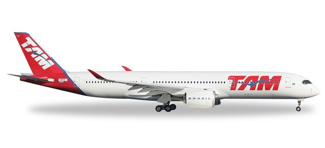 Tam A350XWB PR-XTA (1:500), Herpa 1:500 Scale Diecast Airliners Item Number HE529143